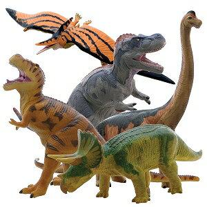 【メーカー直送】ビニールモデル人気恐竜5体セット 70639-70640-70670-70671-70688【割引不可】【6月上旬出荷】
