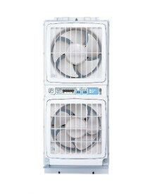 【メーカー直送・大感謝価格 】ウィンドウ ツインファン 窓用換気扇 FMT-200S