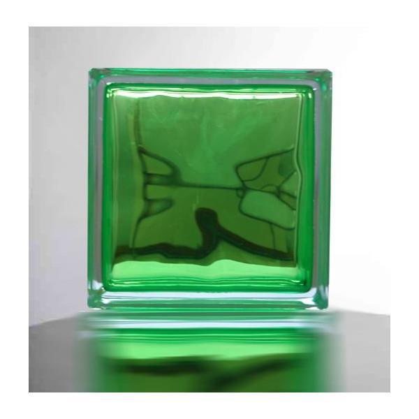 『ガラスブロック190x190x95日本基準サイズ アップル グリーン/りんご緑』(割引不可)別途修正で必ず6個ごと送料発生。欠品終了あり。メーカー直送品。代引不可・同梱不可・返品キャンセル割引不可『クラウディインカラーアップルグリーン』