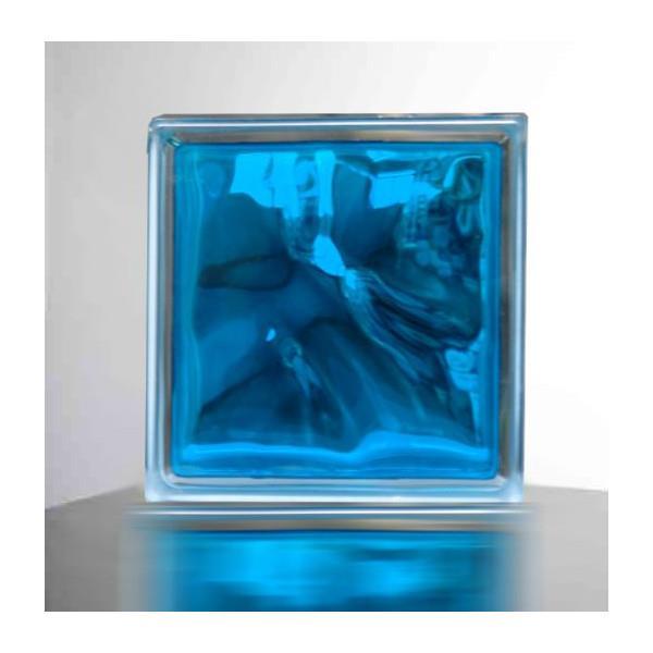 『ガラスブロック190x190x95日本基準サイズ スカイ ブルー』(割引不可)別途修正で必ず6個ごと送料発生。欠品終了あり。メーカー直送品。代引不可・同梱不可・返品キャンセル割引不可ガラスブロック スカイ ブルー