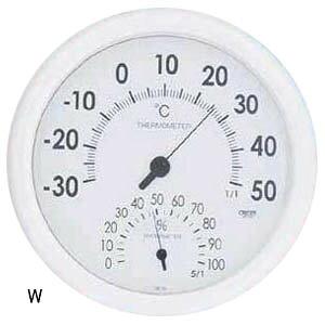 大感謝価格『温度計・湿度計 壁掛け用 CR-320 ブルーorホワイト』『直送品。代引不可・同梱不可・返品キャンセル・割引不可』健康管理 インテリア 生活雑貨 グッズ 温度計・湿度計 壁掛け用