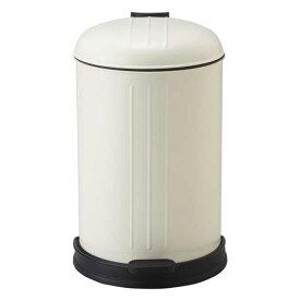 大感謝価格『レトロトラッシュビン 12L』(メーカー直送品。代引不可・同梱不可・返品キャンセル・割引不可)ごみ箱 容器 デザイン ビンテージテイスト インテリア キッチン アイテム レトロトラッシュビン 12L
