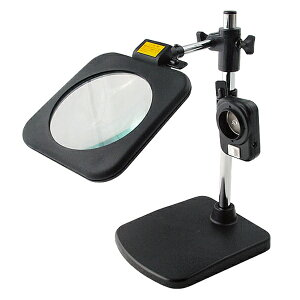 大感謝価格『スタンディングルーペ LEDライト付き RX-130GML』(直送品。代引不可・同梱不可・返品キャンセル・割引不可)ホビー 手元 作業 生活雑貨 便利 アイテム スタンディングルーペ LED