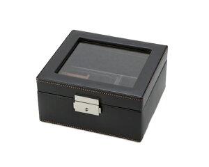 大感謝価格『LA VITA IDEALE メンズボックスM 240-575BK (346シリーズ)』『物流倉庫出荷品。代引不可・同梱不可・返品キャンセル・割引不可』アクセサリー 収納 シンプル デザイン インテリア アイ