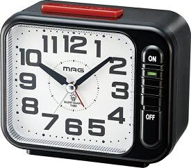 【メーカー直送・大感謝価格】2018MAG・Felio時計 目覚まし時計 モーニングラリー2号 T-680 BK-Z
