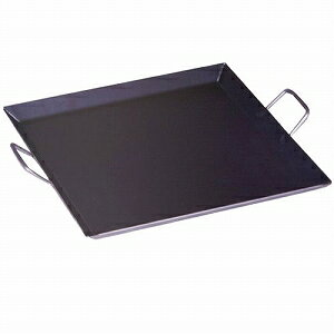 グリーンライフ バーベキュー鉄板 中 44×44cm CP-44 【割引不可・取り寄せ品、返品キャンセル不可】