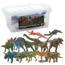 【大感謝価格】恐竜 ダイナソーソフトモデルセット 13体入り Cセット FDW-103 73316【11月中旬出荷】【メーカー直送品。代引・後払い・同梱・返品・キャンセル・割引不可】