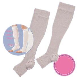 1個プレゼント企画あり『nelne(ネルネ) 着圧ハイソックス』睡眠時の靴下 足をケアする 3個で送料無料、5個で梱包時に1個多く入れます ポイント