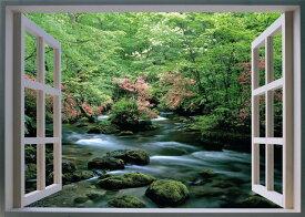『NEW おふろの窓ポスター(スイスの湖畔・富士山・奥入瀬の渓流)3点セット』5940円税別以上送料無料(割引不可)お風呂アイテム 入浴グッズ 景色を