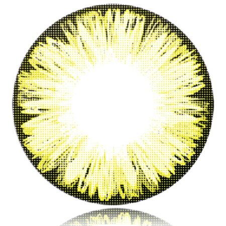 送料無料『1ヶ月 マンスリー Fresco(フレスコ)アイスブラウン Brown Lens Ice 度あり 14.5mm 1枚』カラーコンタクトレンズ QuoRe 度あり カラコンFresco(フレスコ)アイスブラウン Brown Lens Ice 度あり 14.5mm 1枚