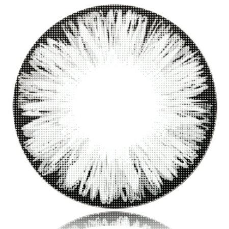 送料無料『1ヶ月 マンスリー Fresco(フレスコ)アイスグレイ Gray Lens Ice 度なし 14.5mm 2枚セット』カラーコンタクトレンズ QuoRe 度なし カラコンFresco(フレスコ)アイスグレイ Gray Lens Ice 度なし 14.5mm 2枚セット