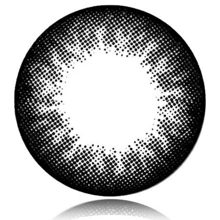 送料無料『1ヶ月 マンスリー Natura(ナチュラ)ベーシックブラック GBK1 度なし 14.0mm 2枚セット』カラーコンタクトレンズ QuoRe 度なし カラコンNatura(ナチュラ)ベーシックブラック GBK1 度なし 14.0mm 2枚セット