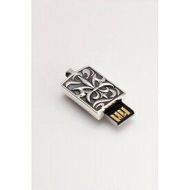 大感謝価格『USBフラッシュメモリー付きシルバーアクセサリー 4GB クレスト』送料無料ペンダントヘッド(シルバー925製)とUSBメモリを融合した新感覚アクセサリー PC パソコン