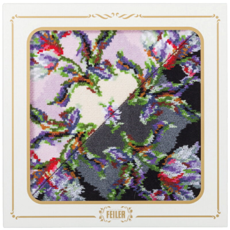 フェイラーシュニール織ハンカチ2枚セット26×26×1cm【割引不可・取り寄せ品キャンセル返品不可】