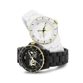 【あす楽対応】スヌーピー生誕70周年記念ハイブリットセラミックウォッチ ブラック/ホワイト【割引不可品】ファッション 腕時計