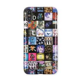【ネコポスのみ】【大感謝価格 】AB-0930-IP0X iPhoneX対応 iPhoneケース MILKBOY ミルクボーイ ハードケース Gizmobies ギズモビーズ INSTAGRAM PATTERN