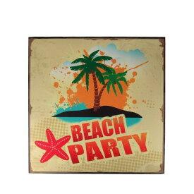 【大感謝価格】ウッドボード BEACH PARTY 28627×2個セット