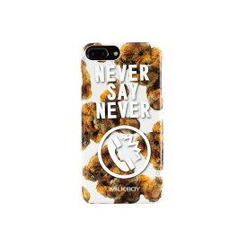 【大感謝価格 】AB-0881-IP7P iPhone8Plus/7Plus/6sPlus/6Plus対応 背面ケース MILKBOY ミルクボーイ×Gizmobies/NEVERPHONEBEARS WH
