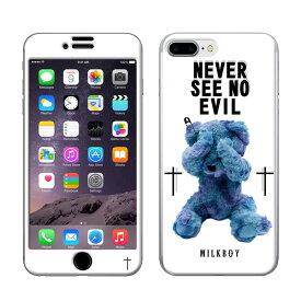 【大感謝価格 】ZN-0041-IP7P iPhone8Plus/7Plus専用 Gizmobies ギズモビーズ MILKBOY ミルクボーイ×Gizmobies/SEE NO EVIL BEARS WHT