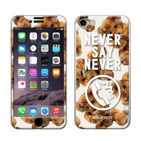 【大感謝価格 】ZN-0045-IP07 iPhone8/7専用 Gizmobies ギズモビーズ MILKBOY ミルクボーイ×Gizmobies NEVER PHONE BEARS BRW