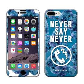 【大感謝価格 】ZN-0046-IP7P iPhone8Plus/7Plus専用 Gizmobies ギズモビーズ MILKBOY ミルクボーイ×Gizmobies/NEVER PHONE BEARS BLU