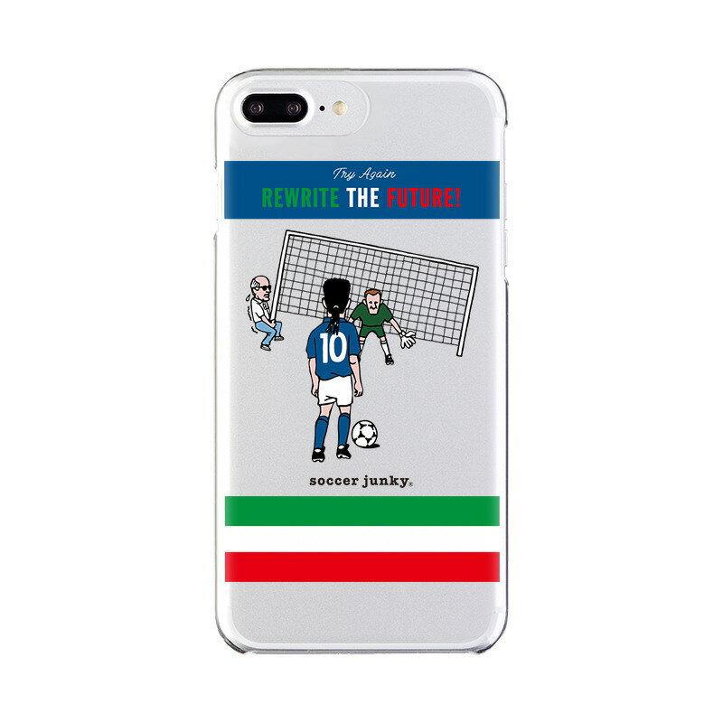 【大感謝価格 】OD-0529-IP7P-0005 iPhone8Plus/7Plus/6sPlus/6Plus対応 iPhoneケース Soccer Junky サッカージャンキー クリアケース Gizmobies ギズモビーズ REWRITE THE FUTURE
