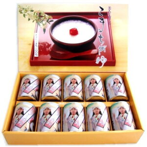 【メーカー直送】【同梱不可】【大感謝価格 】こまちがゆ詰合せ 280g×10缶セット Aセット