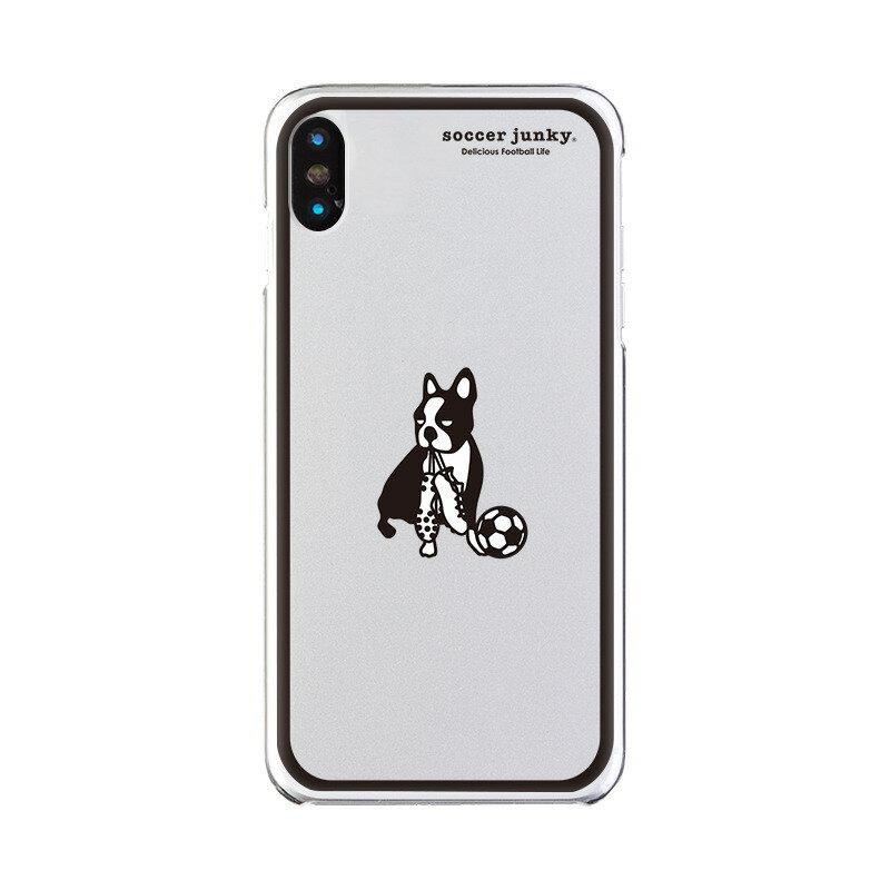 【大感謝価格 】OD-0529-IPXM-0011 iPhoneXS Max対応 iPhoneケース Soccer Junky サッカージャンキー クリアケース Gizmobies ギズモビーズ soccer junky