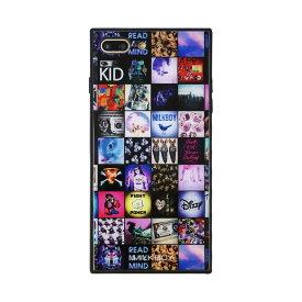 【大感謝価格 】BJ-0001-IP7P-MLTI iPhone8Plus/7Plus対応 iPhoneケース MILKBOY ミルクボーイ スクエア型 ガラスケース Gizmobies ギズモビーズ INSTAGRAM PATTERN