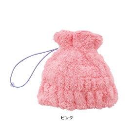 【大感謝価格】マーナ ふんわりドライキャップ ショートヘア用 S414 ピンク