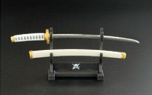 【大感謝価格】ワンピースペーパーナイフ和道一文字モデル 横掛け台付 OP-40ZS
