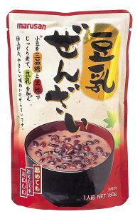 【直送品】【ヘルシ価格】【10個セット】マルサンアイ 豆乳ぜんざい 160g×10個セット
