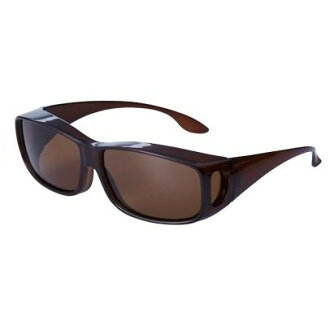 """Large thanks price """"UV cut polarization over sunglasses tea"""" sunglasses UV cut polarizing lens man and woman combined use ultraviolet rays glasses glasses """"UV cut polarization over sunglasses tea"""""""