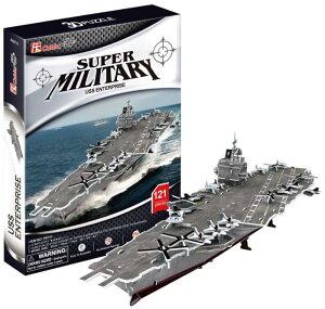 【あす楽対応】大感謝価格『3Dクラフト USS Enterprise P677h』3D 立体パズル かんたん組立 ノリ・ハサミ・カッター不要