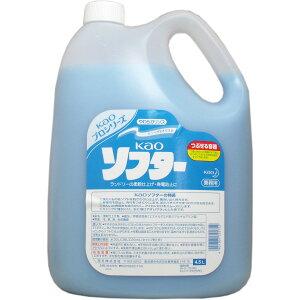 大感謝価格 花王ソフター 業務用 4.5L 返品キャンセル不可品、お取り寄せ品洗剤 柔軟剤 花王ソフター 業務用 4.5L