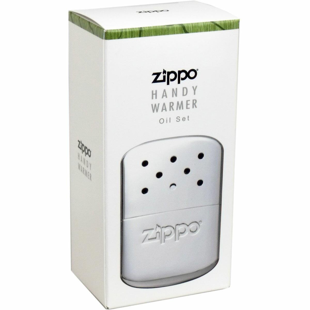 【大感謝価格 】ZIPPO(ジッポー) ハンディウォーマー オイル充填式カイロ ZHW-15