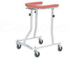 【メーカー直送】日進医療器折りたたみ式歩行車四輪自在--TY157F【別途送料発生は連絡します、割引キャンセル返品不可】