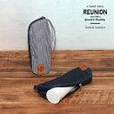【メール便対応】【REUNION】デニムボトルホルダー【500mlのペットボトルがちょうど入る保冷&保温仕様のボトルホルダ…