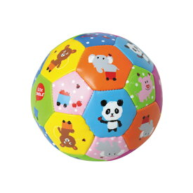 【softoy】【ミニトイボール】ドットキッズドゥードゥル【室内遊びに最適なやわらかいトイボール】ボール トイボール おもちゃ 知育玩具 子供 子供用ボール キッズ ボール 赤ちゃん やわらかい 幼稚園 保育園 ギフト プレゼント かわいい パンダ シロクマ
