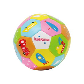 【softoy】【ミニトイボール】いろんなのりもの【室内遊びに最適なやわらかいトイボール】ボール トイボール おもちゃ 知育玩具 子供 子供用ボール キッズ ボール 赤ちゃん やわらかい 幼稚園 保育園 ギフト プレゼント かわいい パンダ シロクマ