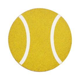 【メール便対応】コルクコースター(2色) 【テニスボール】【ナチュラル感のあるコルクコースター 様々なデザインをプリントしました インテリアにも!!】 クリスマス プレゼント