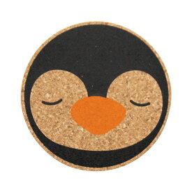コースター コルク コルクコースター 北欧 【 コルクコースター2色 ペンギン 】 カフェ コーヒー レストラン 食器 グラス 開店祝い 北欧風 メール便 おしゃれ かわいい ギフト プレゼント 日本製 クリスマス プレゼント