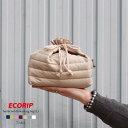 巾着袋 エコバッグ 巾着 保温 保冷 保冷バッグ おしゃれ 弁当 かわいい 【Ecorip 保温保冷巾着袋 (L)】 メール便 マグ…