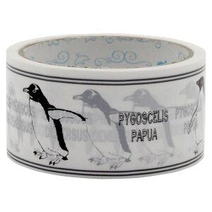 テープ 梱包テープ 梱包用 梱包 パッキング 【d-tape パッキングテープ ブランシュ ペンギン (幅48mm×長さ25m)】 デコレーション 台風 48 blanche. かわいい おしゃれ デザイン パーティー 引っ越し