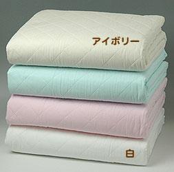 【送料無料】[パシーマ] 掛敷兼用シーツダブルサイズ 180x240cm白・アイボリー・ブルー・ピンクあります