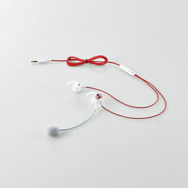 【店内全品100円オフクーポン】【即納】エレコム 耳栓タイプ通話用ヘッドセット - HS-GS30EWH HS-GS30EWH