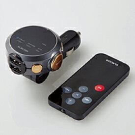 【即納】 2.4A 141ch BluetoothFMトランスミッター LAT-FMBTB05RBK[LAT-FMBTB05RBK]