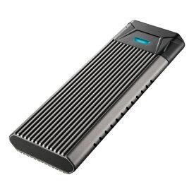 【即納】SSDケース/M.2PCIeNVMe対応/シルバー