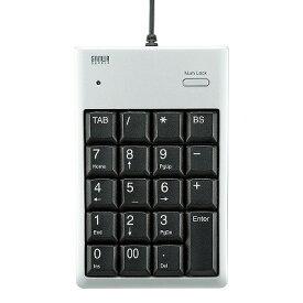 サンワサプライ USB2.0ハブ付テンキー NT-16UH2PKN
