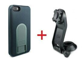 【即納】Intuitive Cube Japan X-Guard iPhone SE/5/5s用ケース(ブラック)&ステムホルダーセット [LG-MA03-0218_LG-XC03-0188_SET]|| ハードケース カバー iPhone5 iPhone5s バイク 自転車 黒 アイフォン5 おしゃれ 海外ブランド おもしろ 【newyear_d19】